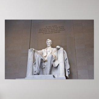 Lincoln Memorial Print print