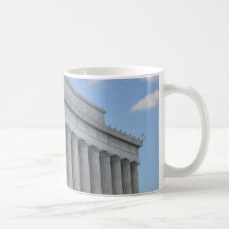 Lincoln memorial profile.JPG Coffee Mug