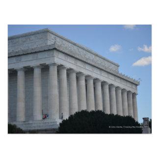 Lincoln memorial profile.JPG Postcard