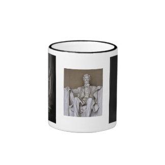 Lincoln Memorial Ringer Mug