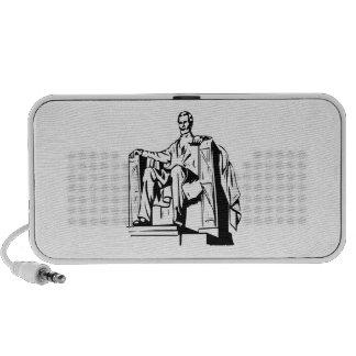 Lincoln Memorial iPod Speakers