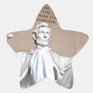 Lincoln Memorial Star Sticker