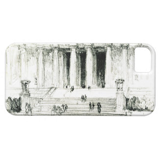 Lincoln Memorial Steps 1922 iPhone SE/5/5s Case