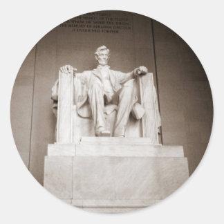 Lincoln Memorial Stickers