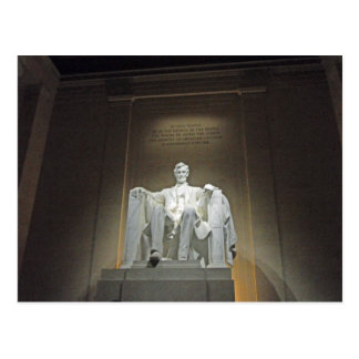 Lincoln Memorial Washington DC 002 Post Card