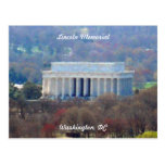 Lincoln Memorial Washington DC 003 Postcard