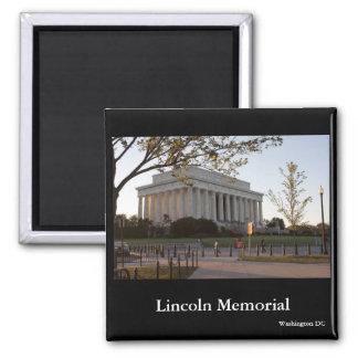Lincoln Memorial, Washington DC 2 Inch Square Magnet