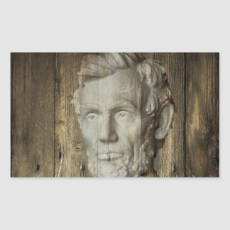 Lincoln Memorial washington dc Abraham Lincoln Rectangular Sticker