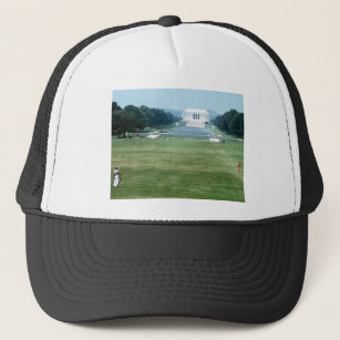 172d918fd7e Lincoln Memorial Washington DC Nations capital Trucker Hat