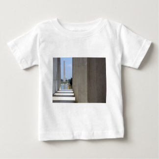 lincoln memorial washington monument baby T-Shirt