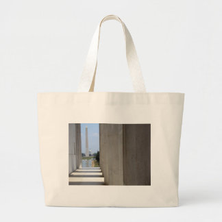 lincoln memorial washington monument canvas bags