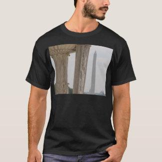 lincoln memorial washington monument T-Shirt