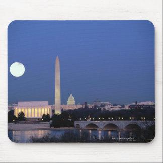 Lincoln Memorial, Washington Monument, US Mouse Pad
