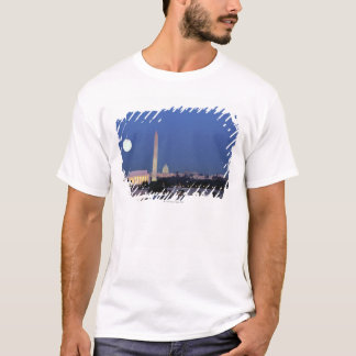 Lincoln Memorial, Washington Monument, US T-Shirt