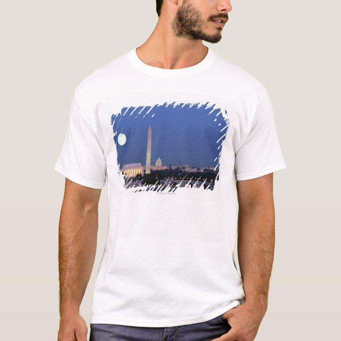 Lincoln Memorial, Washington Monument, US T-Shirt