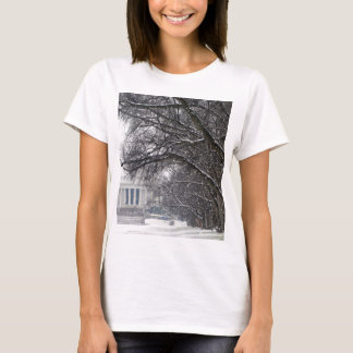 lincoln memorial winter snow T-Shirt