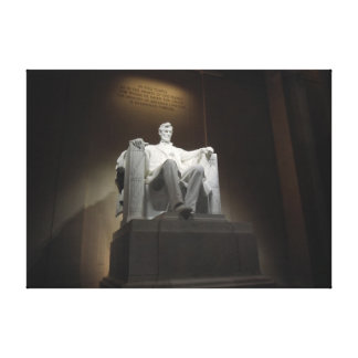 Lincoln Memorial Wrapped Canvas