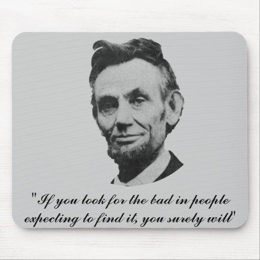 Lincoln - mirada y hallazgo tapete de ratones