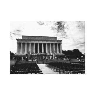 Lincoln Monument Canvas Print