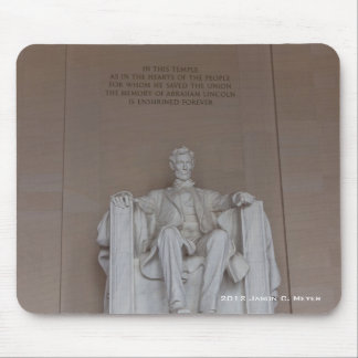 Lincoln Monument Mouse Pad