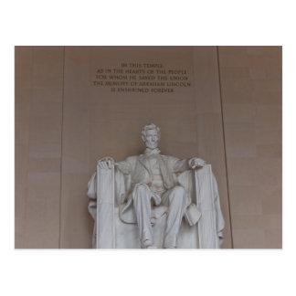 Lincoln Monument Postcard