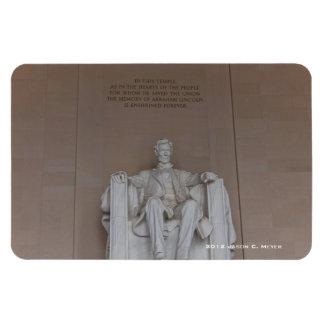 Lincoln Monument Rectangular Photo Magnet