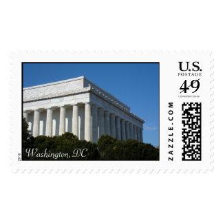Lincoln Monument, Washington, DC Stamp