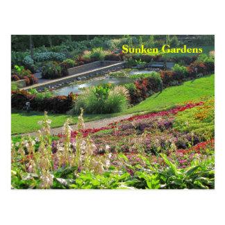Lincoln, Nebraska Sunken Gardens #223N  0223 Post Card