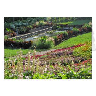 Lincoln, Nebraska Sunken Gardens Card