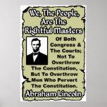 Lincoln: ¡Nosotros la gente! Poster