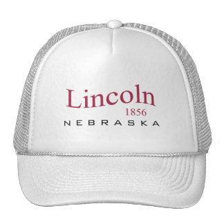Lincoln, NOTA - 1856 Gorra