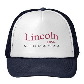 Lincoln, NOTA - 1856 Gorro De Camionero