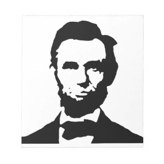Lincoln Notepad