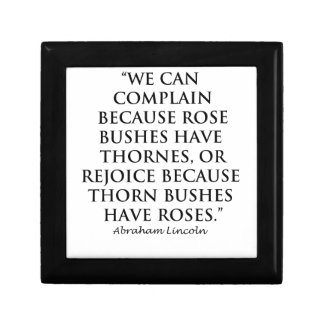 Lincoln: on  Thornes and Roses (Clear) Gift Box