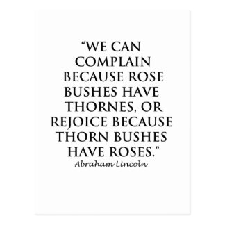 Lincoln: on  Thornes and Roses (Clear) Postcard