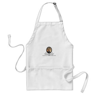 Lincoln Oval art Adult Apron