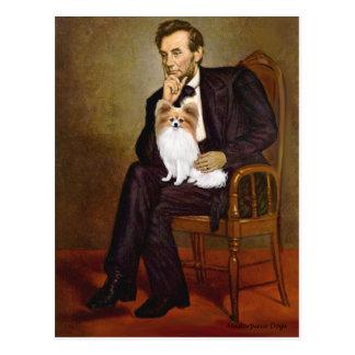 Lincoln - Papillon 4 Postcard