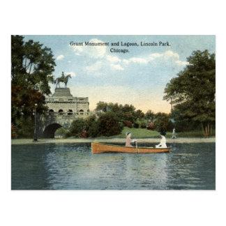 Lincoln Park, Chicago 1915 Vintage Post Cards