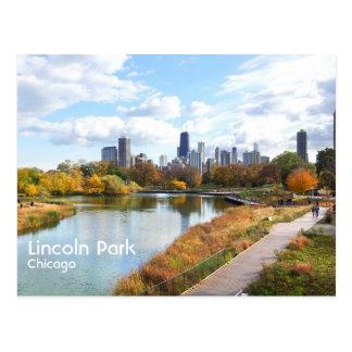 Lincoln Park Tarjeta Postal