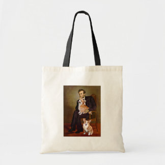 Lincoln - Pembroke Welsh Corgis (two) Tote Bag