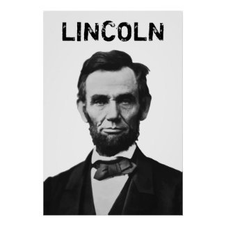 Lincoln print
