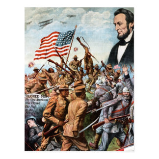 Lincoln Poster Postcard