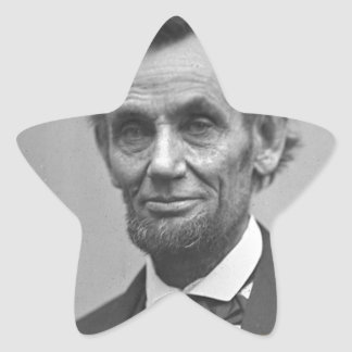 Lincoln Powerful quote Star Sticker