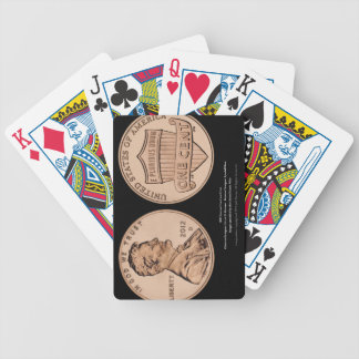 Lincoln  Premium Gambling Cards by Jeff Pierson