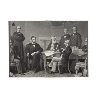 Lincoln que lee la proclamación de la emancipación iPad mini cárcasa