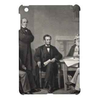 Lincoln que lee la proclamación de la emancipación iPad mini funda