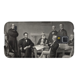 Lincoln Reading the Emancipation Proclamation Galaxy S5 Cover