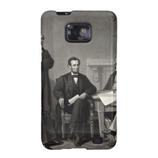 Lincoln Reading the Emancipation Proclamation Samsung Galaxy S2 Cover