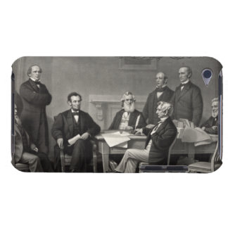 Lincoln Reading the Emancipation Proclamation iPod Case-Mate Cases