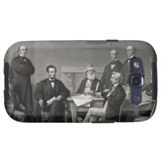 Lincoln Reading the Emancipation Proclamation Samsung Galaxy SIII Case